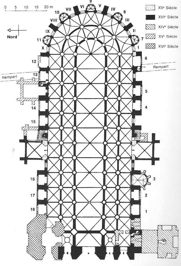 Plan Cathedrale Reims le Plan de la Cathedrale Avec